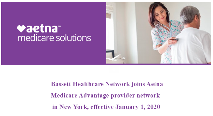 Bassett Healthcare Network joins Aetna Medicare Advantage provider network